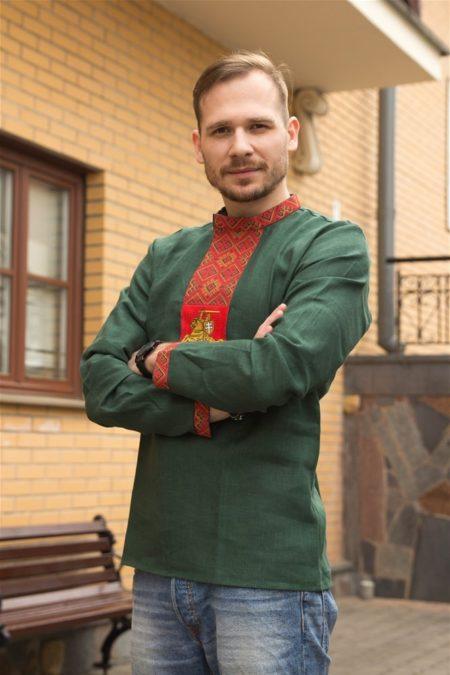 """Мужская вышиванка """"Пагоня"""""""